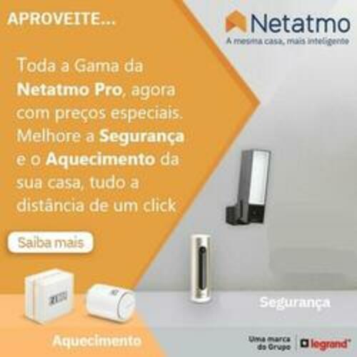 Campanha Netatmo Pro