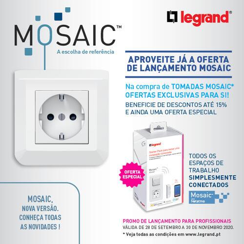 Tomadas Mosaic